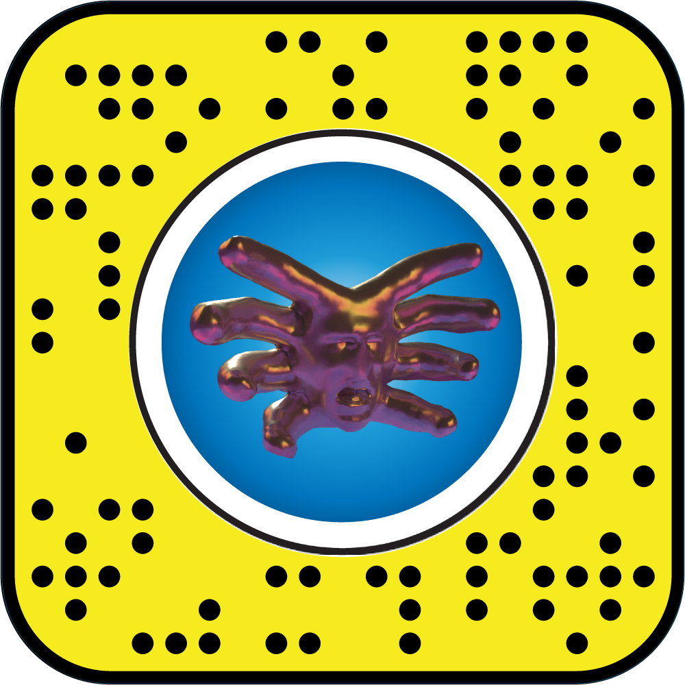 Thor Maan de Kok's 3D demothorgon model available in Snapchat's augmented reality
